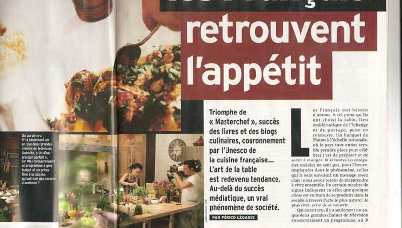 Les Français retrouvent l'appétit – Marianne