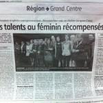 Des Talents au Féminin Récompensés – Le Berry Républicain